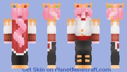 Now you know how heroes were made //remake Minecraft Skin