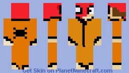 prison spidey updated Minecraft Skin