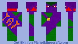 """""""YAY"""" Banner Minecraft Skin"""