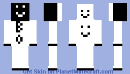 B_0 with 3 smiles Minecraft Skin