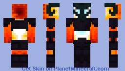 pyro wraith Minecraft Skin