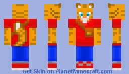 Higher Rez Catman Minecraft Skin