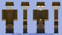 The Intruder (DUSK) Minecraft Skin