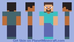 Minecon 2011 Banner Steve Minecraft Skin