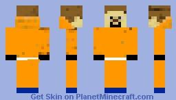 Prisoner from AheeCraft Minecraft Skin