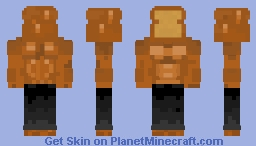 A_Bread_Boii. Oh yeah but I made him gain 80 pounds in muscle. Minecraft Skin
