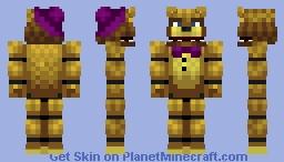 Fredbear -Five Nights at Freddy's 4 Minecraft Skin