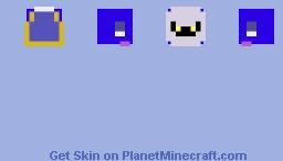 Meta knight Minecraft Skin