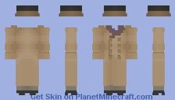 Elegant 20th century suits (model 1) // Trajes elegantes del siglo xx (modelo 1) Minecraft Skin