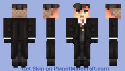 Thomas Shelby - Peaky Blinders [request] Minecraft Skin