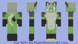 green anthro | request #8 Minecraft Skin