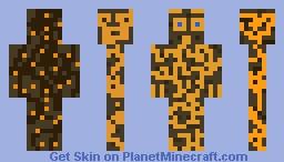 Cheetah camo Minecraft Skin