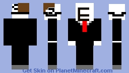 troll face take off things to get troll face Minecraft Skin