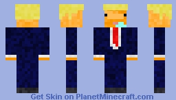 Derpy donald trump Minecraft Skin