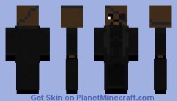 Nick Fury Minecraft Skin