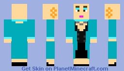 American Horror Story: Liz Taylor Minecraft Skin