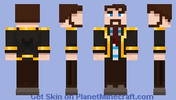 Xephos But he's in a suit Minecraft Skin