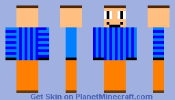Hello neighbor but when he doesn't see you Minecraft Skin