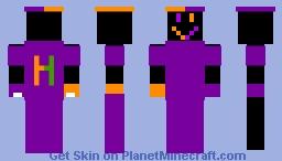 h man Minecraft Skin