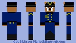 Officer Stanley Rollins Minecraft Skin