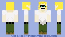 Civilian All Might Minecraft Skin