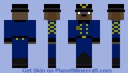 Officer Thomas Wolk Minecraft Skin