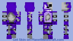 Extremaly dismantled bonnie the bunny Minecraft Skin