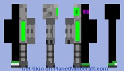 Cyborg Enderman v.3 Minecraft Skin