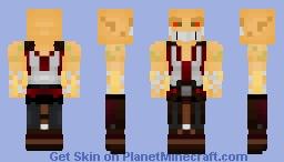Baraka (Mortal Kombat) Minecraft Skin