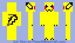 Pikachu Minecraft Skin Minecraft Skin