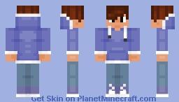 Boy blue hoodie *UPDATED* Minecraft Skin