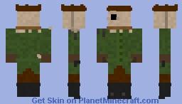 The Hunter (Little Nightmares 2) Minecraft Skin