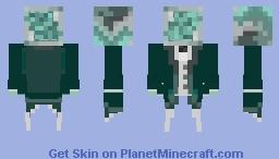 Polonium element skin Minecraft Skin