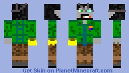 Dr Personal Minecraft Skin