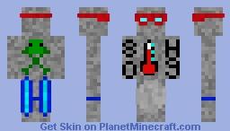 Mercury Man Minecraft Skin