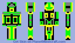 Creeperbot 3000 Minecraft Skin
