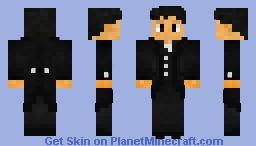 Overlord Aqua@2 (Tuxedo Skin) Minecraft Skin