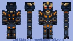 RX-0 Unicorn Gundam 02 Banshee ( DESTROY MODE ) Minecraft Skin