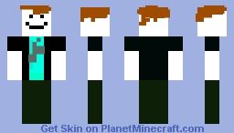 Bakon Hair Roblox Minecraft Skin