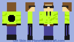 Some dude with green hoodie #2 Minecraft Skin
