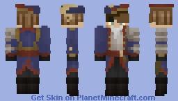 pirate boy !! :D Minecraft Skin