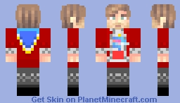 Mr Beast in techno outfit Minecraft Skin