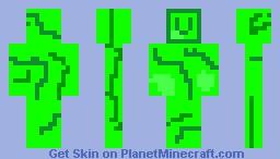 Uranium Minecraft Skin