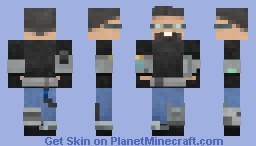 Space and Time Traveler from the Caucasus V2.0 Minecraft Skin