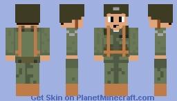 WWII Colonel Minecraft Skin