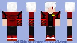Red Dragon Tamer Minecraft Skin