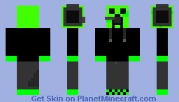 Gaming Creeper Minecraft Skin