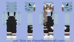 shark girl || not mine Minecraft Skin