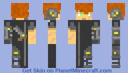 Futuristic Smuggler Minecraft Skin