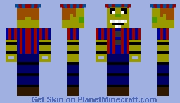 Phantom Balloon Boy Minecraft Skin